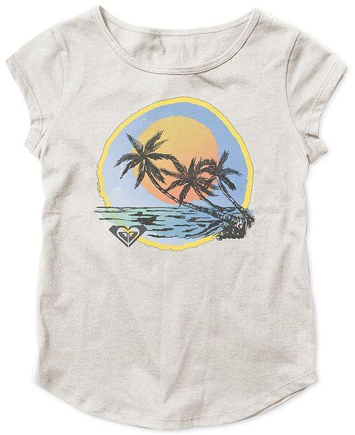 Roxy Big Girls Beach-Print T-Shirt