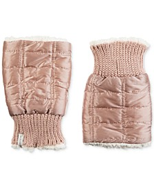 Women's Quilted Fingerless Glove Cozies