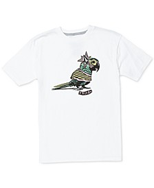 Big Boys Bird-Print Cotton T-Shirt