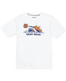 Volcom Big Boys Heat Wave-Print Cotton T-Shirt