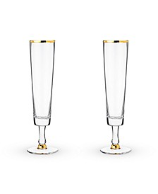 Wedding Champagne Flute Set of 2
