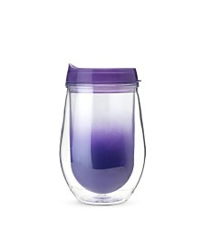 True Traveler Double Walled Wine Tumbler in Ombre