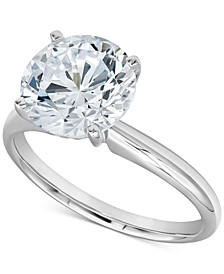 Diamond Solitaire Engagement Ring (2-1/4 ct. t.w.) in 14k White Gold