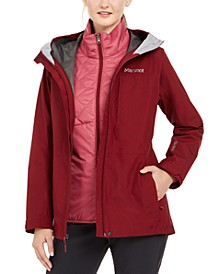 Women's Minimalist Waterproof Component Jacket