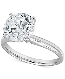 Diamond Solitaire Engagement Ring (3-1/2 ct. t.w.) in 14k White Gold