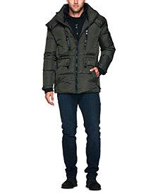 S13 Men's Ashton Mid-Length Puffer Jacket