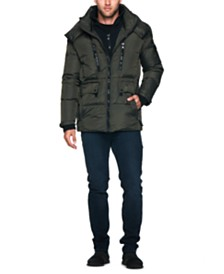 S13 Men's Ashton Mid-Length Puffer Jacket