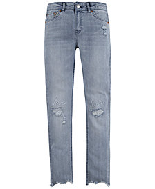 Levi's® Big Girls Embroidered Girlfriend Jeans