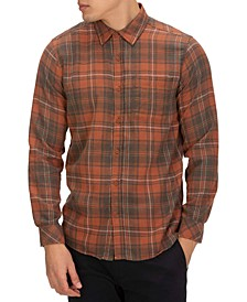 Men's Vedder Washed Plaid Shirt