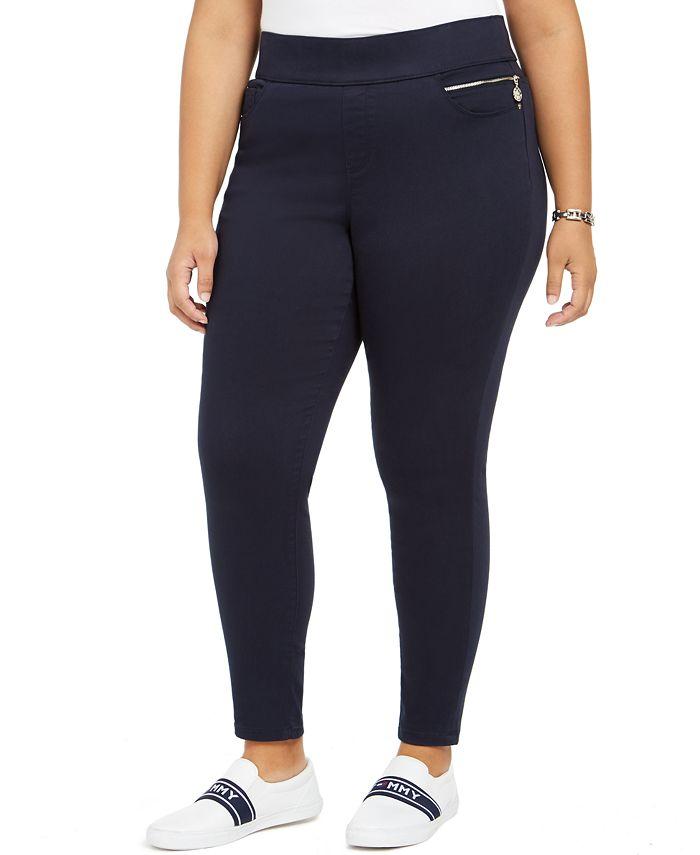 Tommy Hilfiger - Plus Size Gramercy Sateen Capri Pants