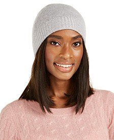 Cashmere Cuffed Beanie, Created For Macy's
