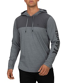 Hurley Men's One And Only Colorblocked Hooded T-Shirt