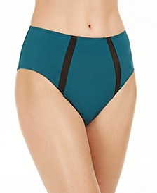 INC Women's High-Waist Brief Underwear, Created for Macy's