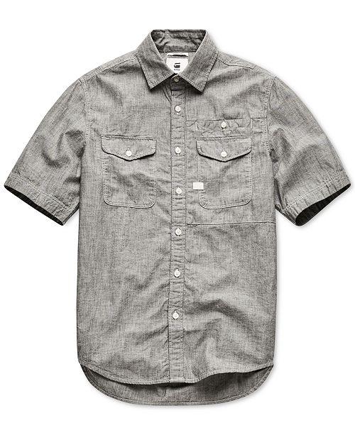 G-Star Raw Men's CPO Short Sleeve Shirt