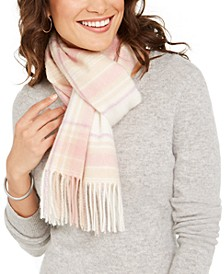 Plaid Woven Cashmere Scarf, Created for Macy's