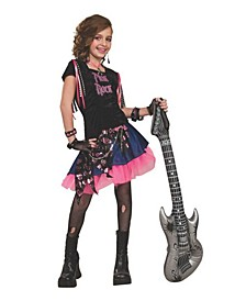 Little and Big Girl's Rock Child Costume