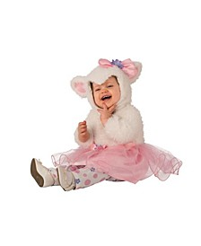 Toddler Girls and Boys Lamb Tutu Deluxe Costume