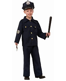 BuySeasons Boy's Police Child Costume