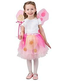 Big Girl's Lollipop Fairy Skirt Set