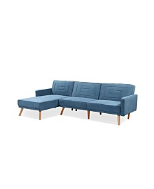 Gold Sparrow Ventura Convertible Sectional Sofa Bed