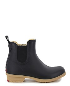 Chooka Women's Bainbridge Chelsea Ankle Rain Boot