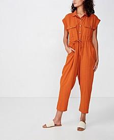 Woven Isabella Utility Jumpsuit