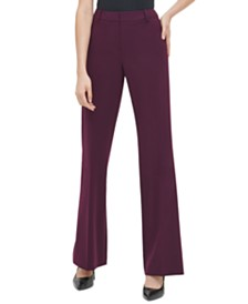 Calvin Klein Flared-Leg Pants