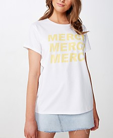 Cotton On Classic Slogan T Shirt