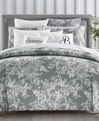 Woven Floral 300-Thread Count 3-Pc. Full/Queen Comforter Set, Created for Macy's