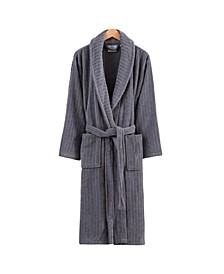 Line Luxury Velvet Unisex Bath Robe