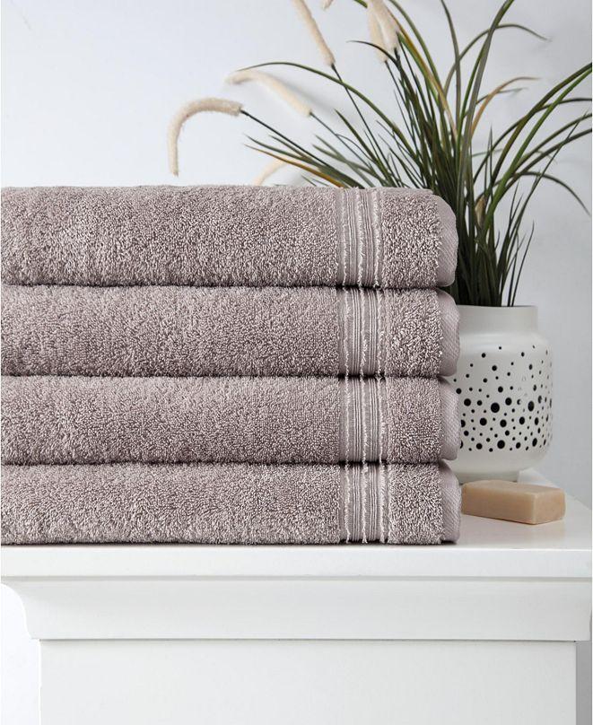 OZAN PREMIUM HOME Cascade Bath Towel 4-Pc. Set