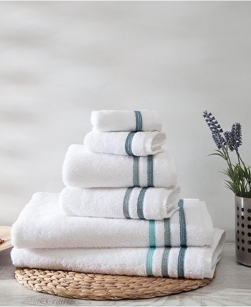 OZAN PREMIUM HOME Bedazzle Towel Sets 6-Pc. Set