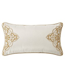 "Shelah 11"" X 20"" Embroidered Decorative Pillow"