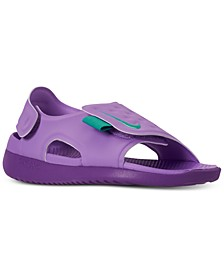 Little Girls' Sunray Adjust 5 Sandals from Finish Line