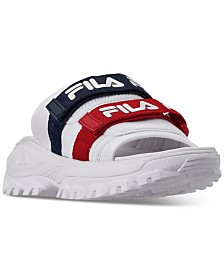 Fila Women's Outdoor Slide Sandals from Finish Line