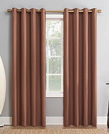 """Patina 52"""" x 95"""" Textured Blackout Curtain Panel"""