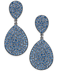 INC Pave Double Drop Earrings, Created For Macy's