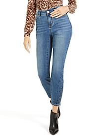 INC Rhinestone Curvy Skinny Jeans, Created for Macy's