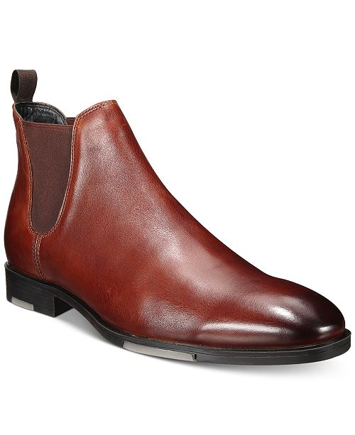 Alfani Men's River Water Resistant Chelsea Boots, Created For Macy's