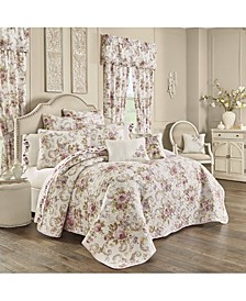 Chambord Lavender King 3 Piece Quilt Set