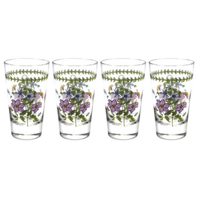 Botanic Garden Highball Glasses, Set Of 4
