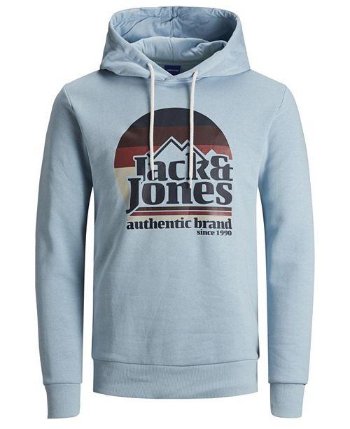 Jack & Jones Men's Autumn Graphic Hoodie