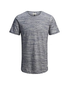 Jack & Jones Men's High Summer Short Sleeve T-Shirt With Melange Quality