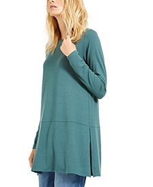 Boat-Neck Tunic Top