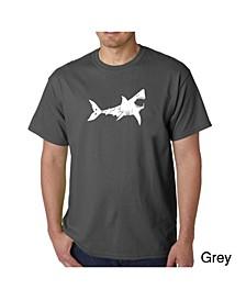 Men's Word Art T-Shirt - Bite Me