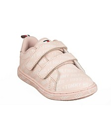 Toddler Girls Iconic Court Logo Toddler Sneakers