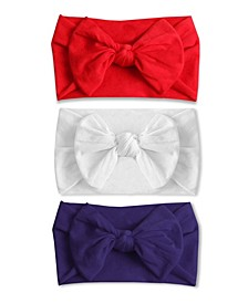 Baby Girl Tiny Bow Headband Set