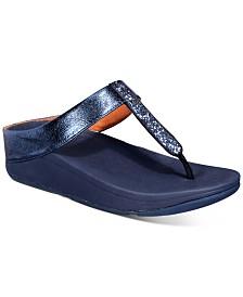 FitFlop Fino Glitzy Thong Sandals