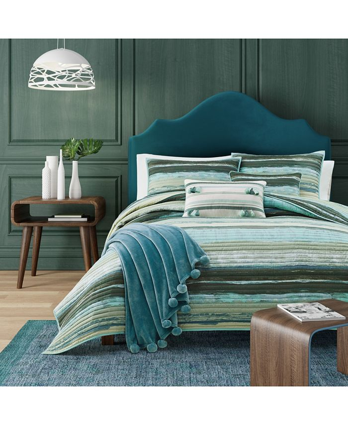 J Queen New York - Cordoba   Forest Forest Twin Coverlet
