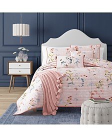 Beatrice Rose Twin Coverlet